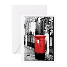Red Letterbox Greeting Card