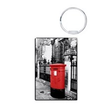 Red Letterbox Keychains