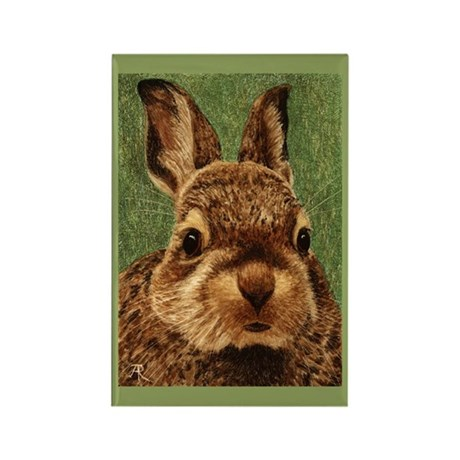 Baby Cottontail Rectangle Magnet (10 pack)