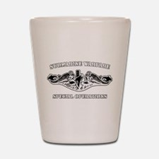 Submarine Warfare Spec Ops Shot Glass