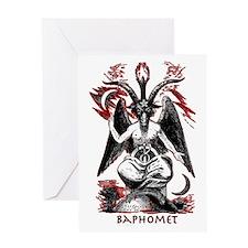 Baphomet Greeting Card