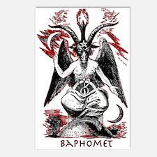 Baphomet Postcards (Package of 8)