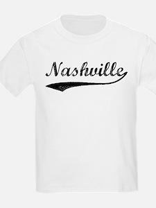 Vintage Nashville Kids T-Shirt