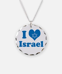 I Love Israel Necklace