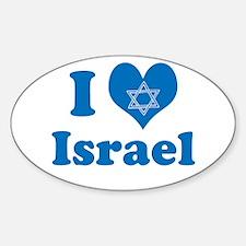 I Love Israel Decal
