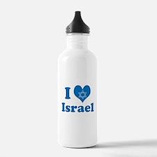 I Love Israel Water Bottle