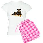 Rottweiler Women's Light Pajamas