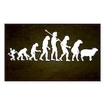Modern Evolution Sticker (Rectangle 50 pk)