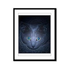 Follow My Eyes Framed Panel Print