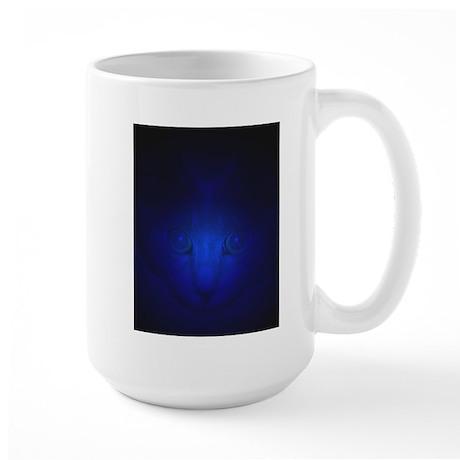 Blue Malaki Large Mug