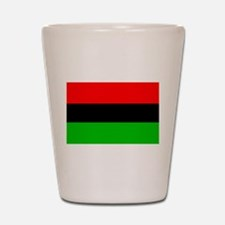 African-American Flag Total Shot Glass