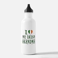 I Love My Irish Grandma Water Bottle