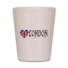 Love London Shot Glass