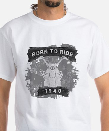Birthday Born 1940 Born To Ri T-Shirt