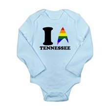 I Takei Tennessee Long Sleeve Infant Bodysuit