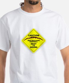 CAUTION! Men Watching Football Shirt