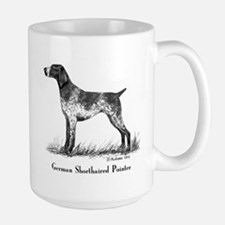 German Shorthaired Pointer Large Mug
