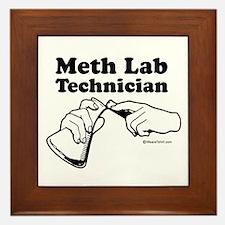Meth Lab Technician - Framed Tile