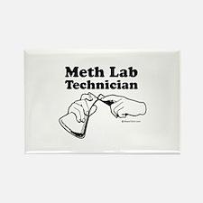 Meth Lab Technician - Rectangle Magnet