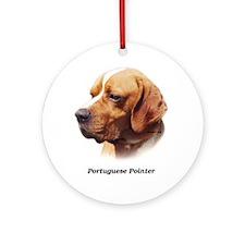 Portuguese Pointer Ornament (Round)