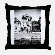 Earthquake, Fondations Give Way Throw Pillow