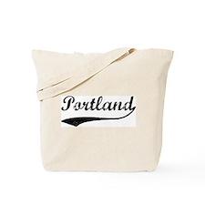 Vintage Portland Tote Bag
