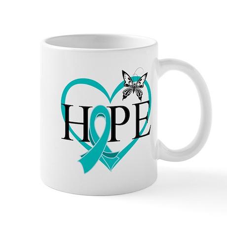 Ovarian Cancer Hope Mug
