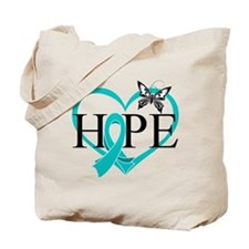 Ovarian Cancer Hope Tote Bag