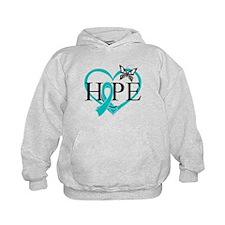 Ovarian Cancer Hope Hoodie
