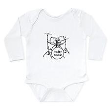 My Dad Rocks! Long Sleeve Infant Bodysuit