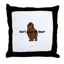 Uh oh baby Throw Pillow
