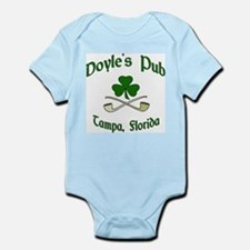 """Doyle's Pub/Crossed Pipes"" Infant Creeper"