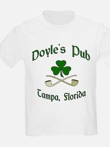 """Doyle's Pub/Crossed Pipes"" Kids T-Shirt"