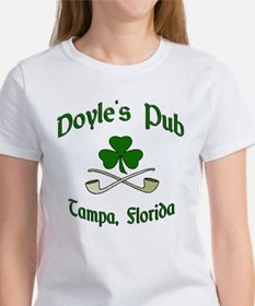 """Doyle's Pub/Crossed Pipes"" Women's T-Shirt"