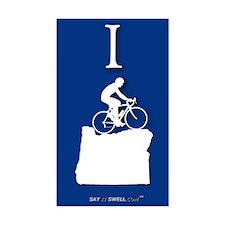 Bike Oregon (shape) rectangle