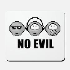 No Evil Mousepad