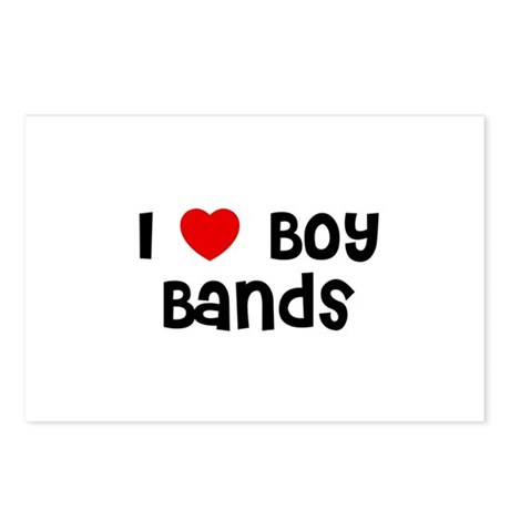 I * Boy Bands Postcards (Package of 8)