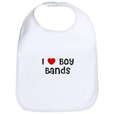 I * Boy Bands Bib