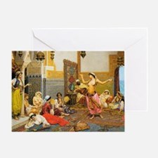 The Harem Dance 5x7 Greeting Card