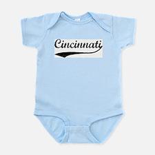 Vintage Cincinnati Infant Creeper
