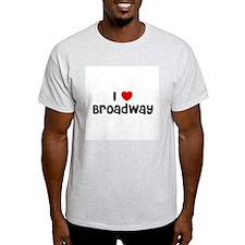 I * Broadway Ash Grey T-Shirt