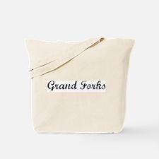 Vintage Grand Forks  Tote Bag