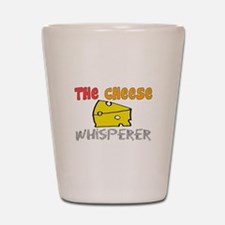 Food Love Whisperers Shot Glass