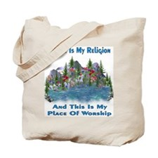 Nature Is My Religion Tote Bag