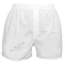 Testosterone Molecule Boxer Shorts