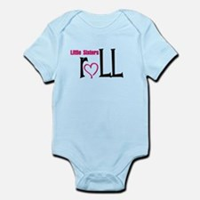 Little sisters roll Infant Bodysuit