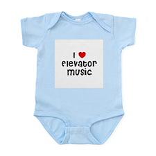I * Elevator Music Infant Creeper
