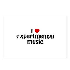 I * Experimental Music Postcards (Package of 8)
