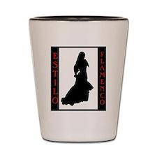 Estilo Flamenco Shot Glass