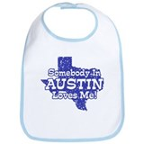 Austin texas Cotton Bibs
